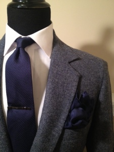 Blue Tweed Blazer2