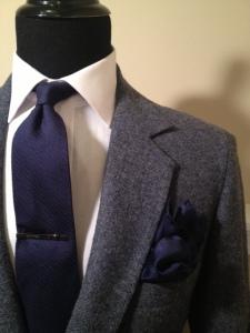 Blue Tweed Blazer2