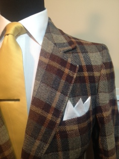 Plaid sport coat2