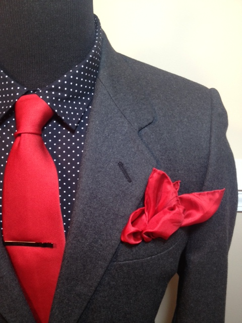Wool Charcoal Suit