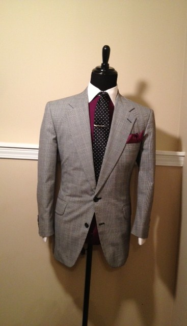 Glen Plaid Sport Coat