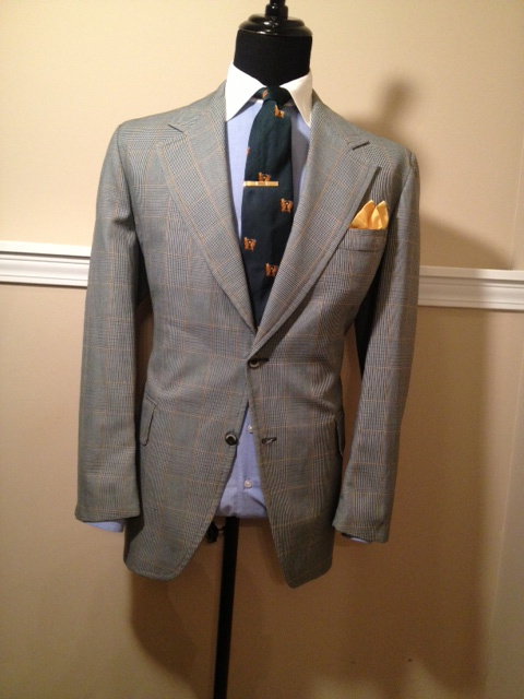 Green Plaid Sport Coat