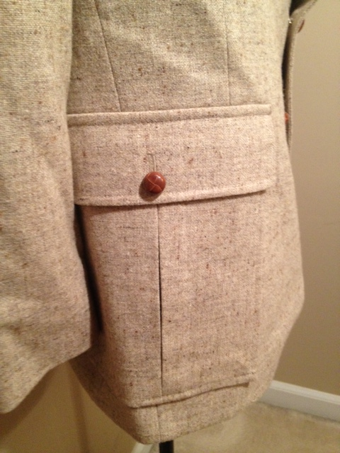 Tan Speckled Blazer 4