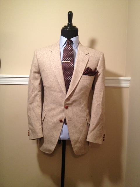 Tan Speckled Blazer