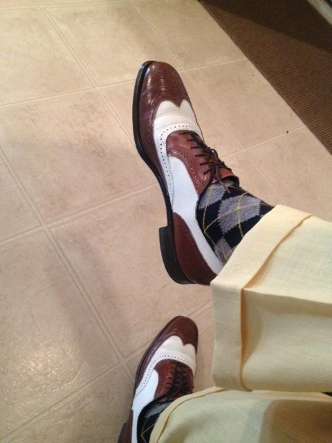 ae8903ab125 Brooks Brothers Argyle socks