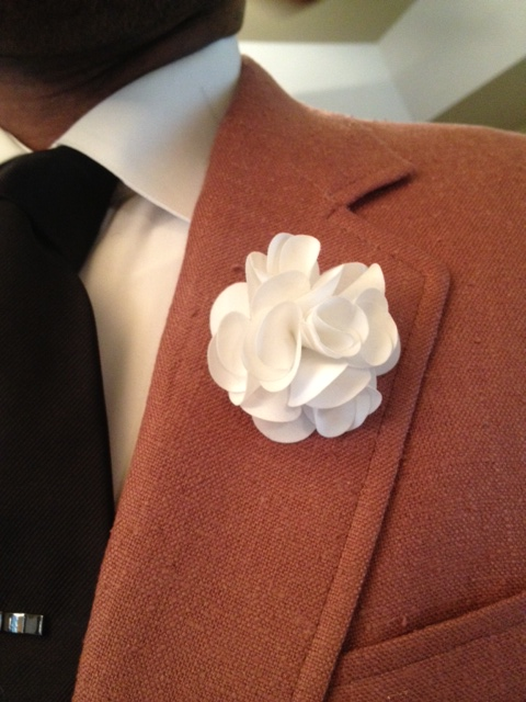 June 2013 vintage dope dealer white flower lapel pin is from a boutique on the campus of unc greensboro mightylinksfo