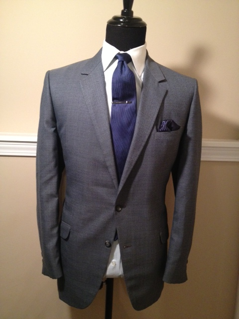 Plaid Slate Sport coat