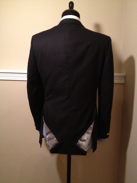 Black DB Blazer Gold Buttons3