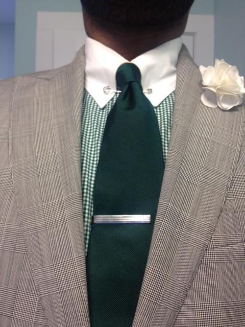 January 2014 vintage dope dealer for Tie bar collar shirt