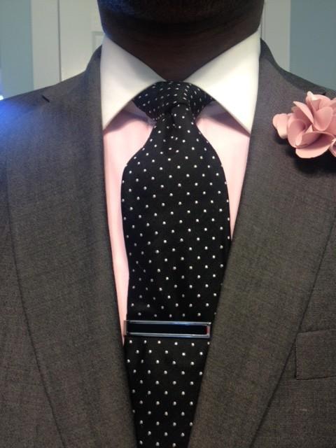 Black And White Polka Dot Tie Vintage Dope Dealer