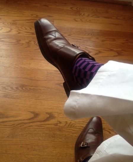 Van Heusen Double Monk Strap Shoes