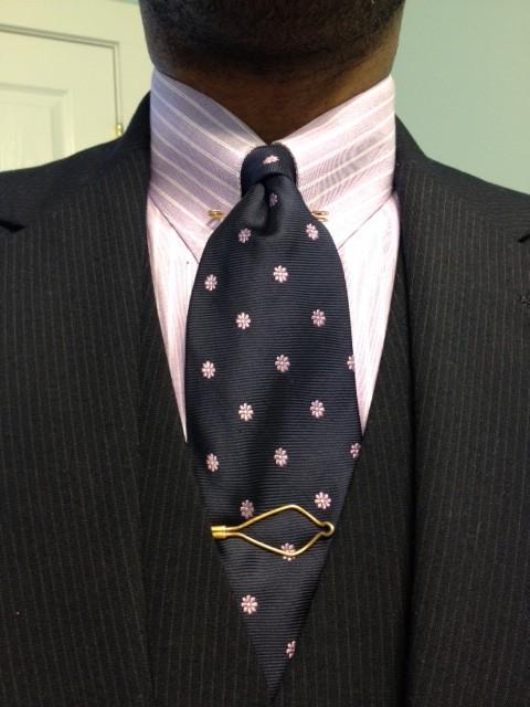 Vintage dope dealer let me take you flyer for Tie bar collar shirt